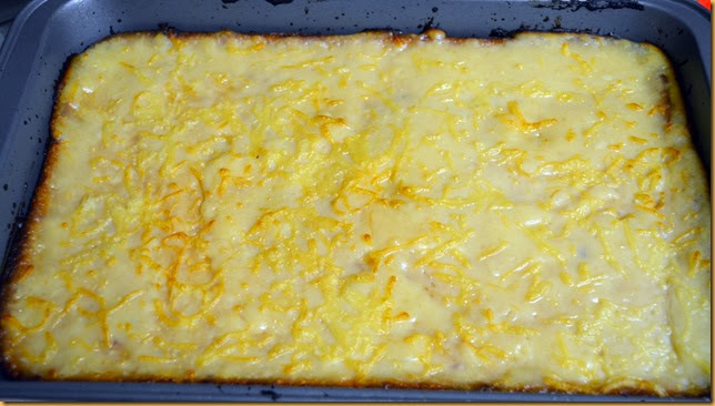 Cassava Cake with Topping