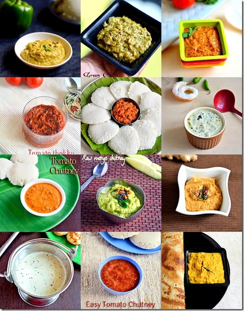 35 CHUTNEY RECIPES-SIDEDISH FOR IDLI DOSA