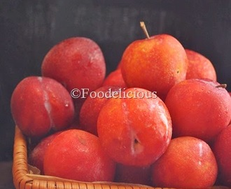 ... Plums and Chinese Plum Sauce | Step Wise | Food Presentation Ideas-2