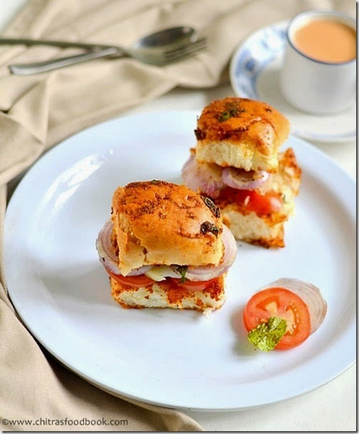 PAV SANDWICH RECIPE(MUMBAI STREET FOOD)