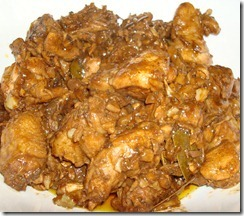 Adobong Manok sa Atsuete (Chicken Adobo in Annatto)