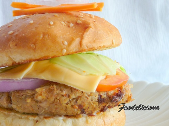 A Plate Filled With Health – Succulent Jackfruit & Soya Burger