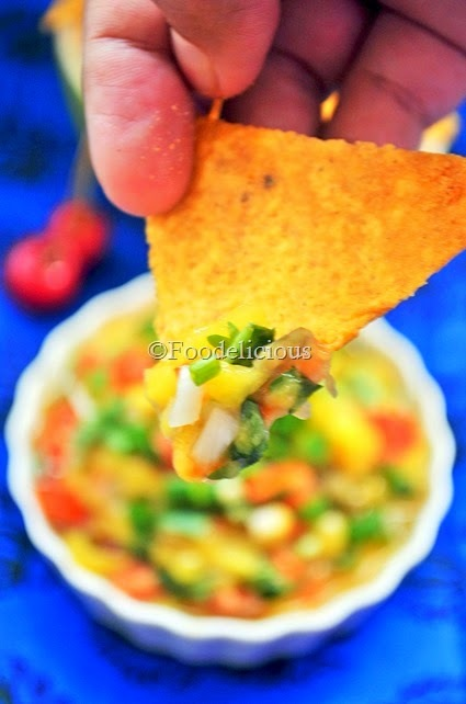 Raw Mango Salsa | Winner of Only Event Of June