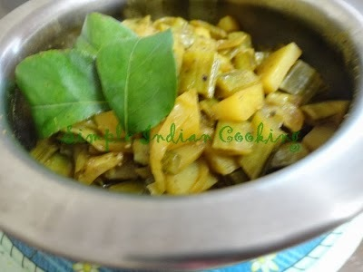 Cluster Beans And Potato Curry Recipe