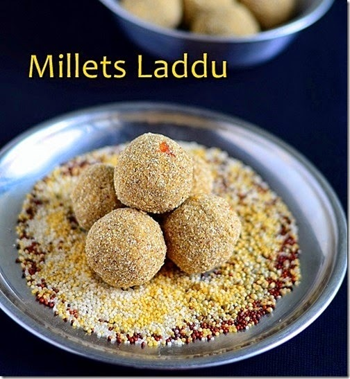 MILLETS LADDU RECIPE-MILLET RECIPES