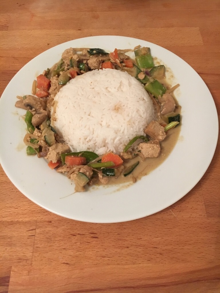 Green Thai Curry -Vegan