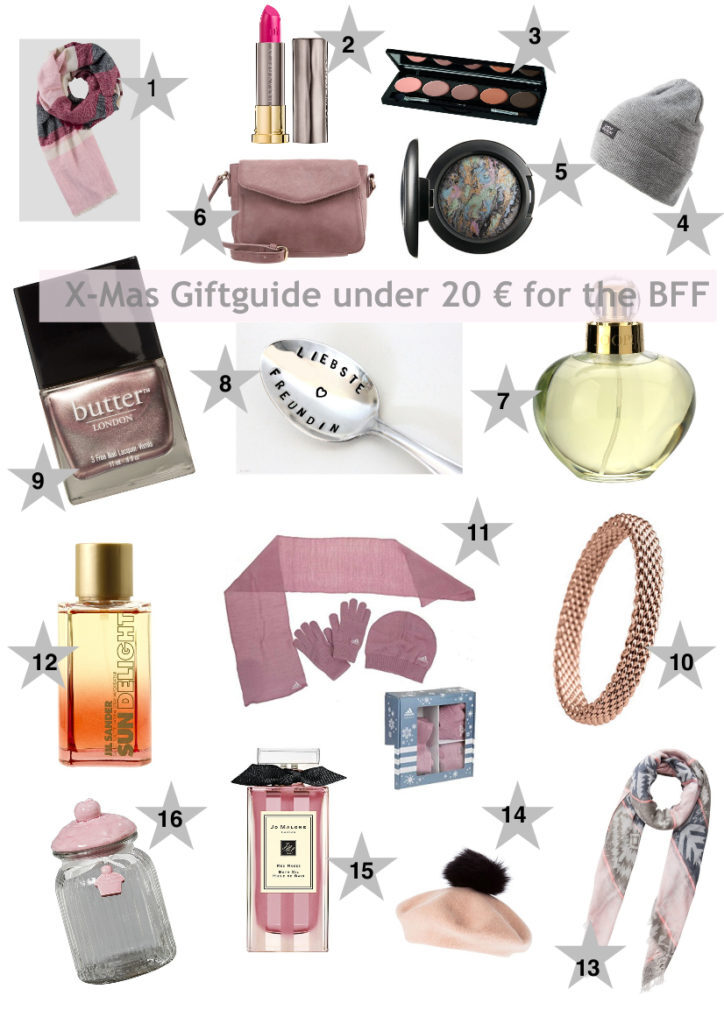 X-Mas Giftguide for the BFF!