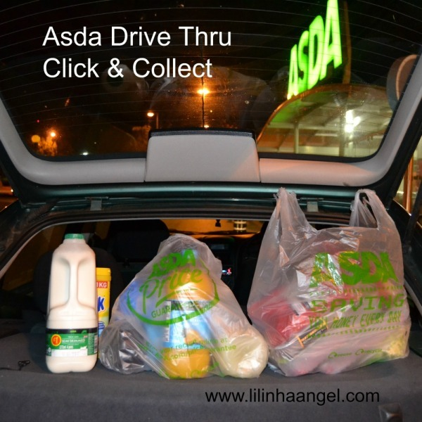 Too Busy for Grocery Shopping? Try Asda Click & Collect Drive Thru #CollectiveBias #shop