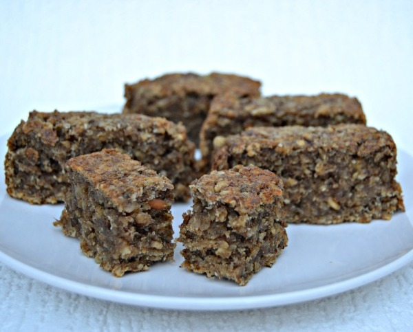 Peanut Butter and Banana Weetabix Breakfast Bar Recipe