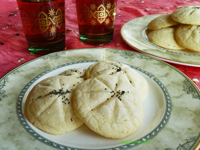 Persian Rice Cookies (Naan-e Berenji)