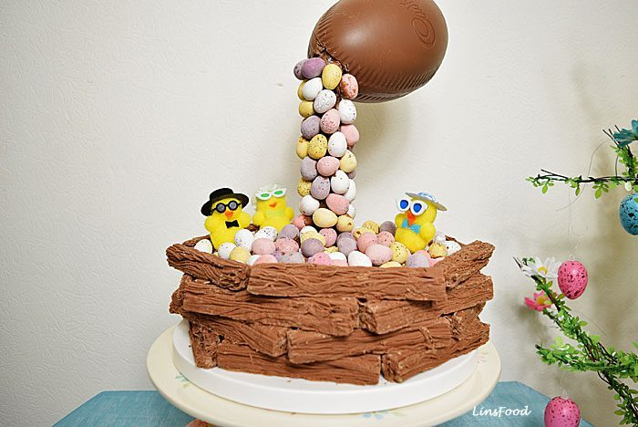 Easter Cake Chocolate Eggstravaganza