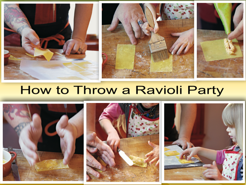 Recipes: How to Throw a Ravioli Party