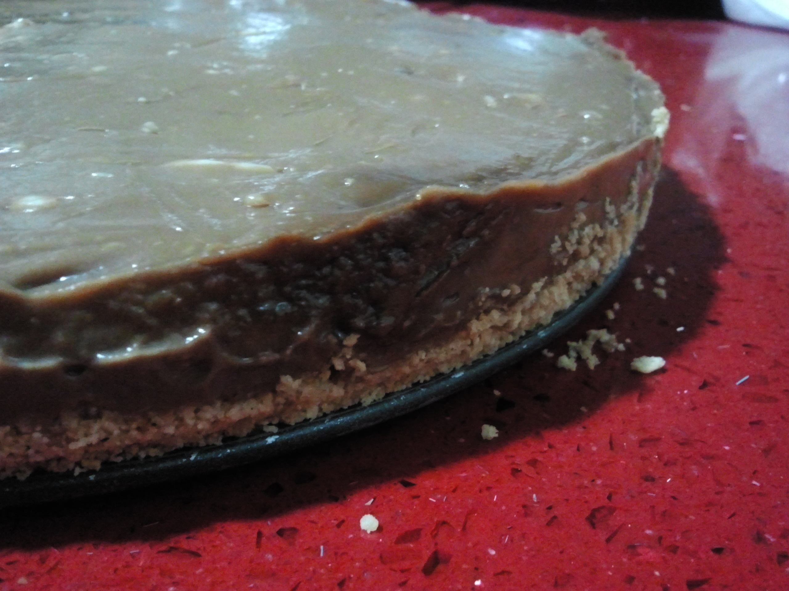 Cheesecake de Nutella (sin horno)