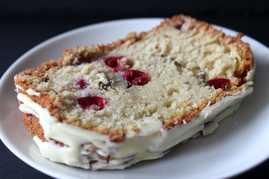 Cranberry, Pecan and White Chocolate Loaf
