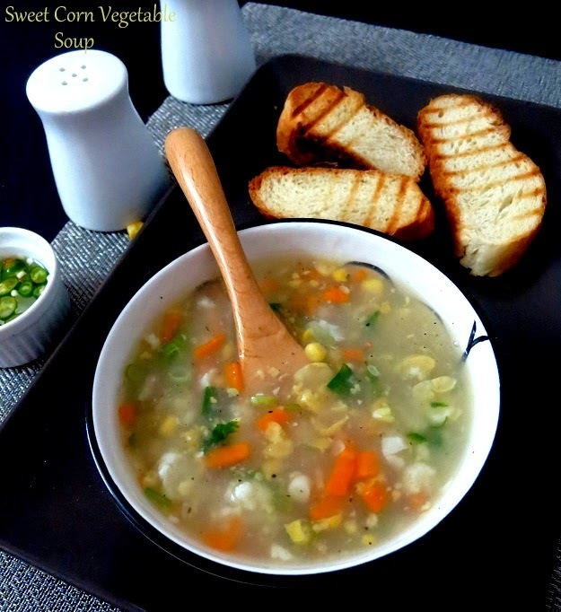 Green pea and corn soup recipesmyTaste.in