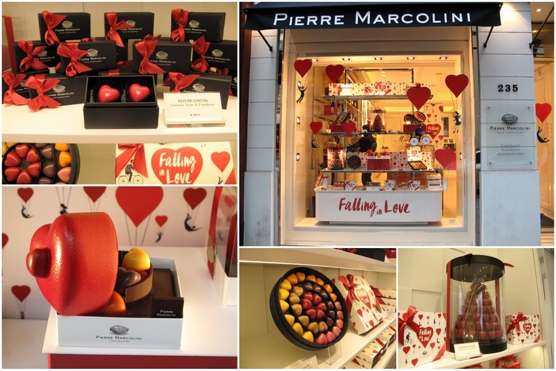 Valentine Chocolates in Paris