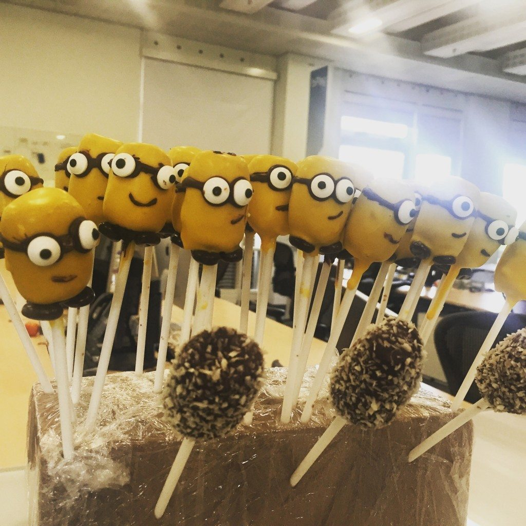 Easy Minion Cake Pop Tutorial