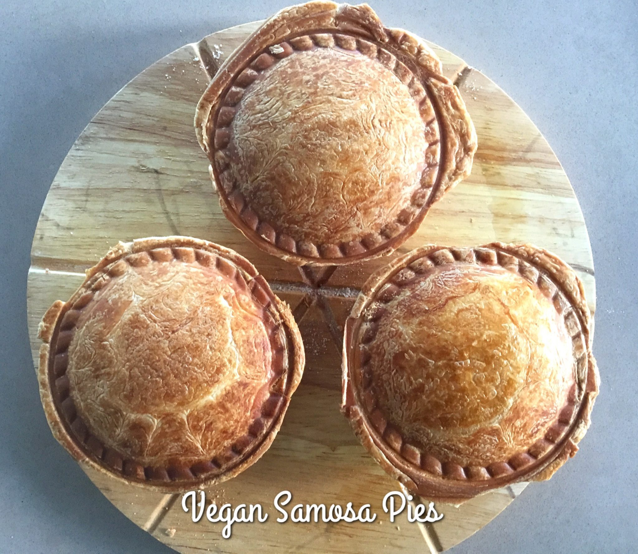 Vegan Vegetable Samosa Pies