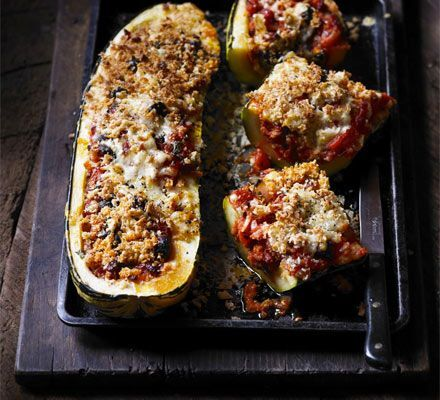 stuffed marrow minced beef