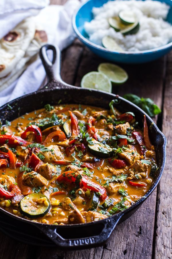 Caroline's Colourful Chicken Curry