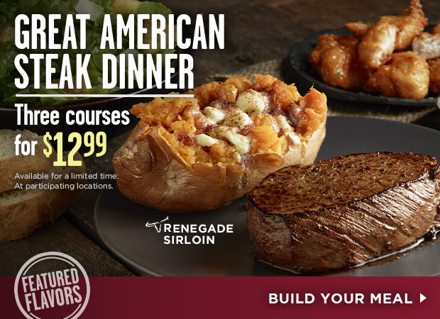 Longhorn Steakhouse Great American Steak Dinner
