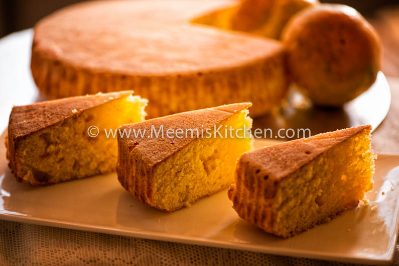 Simple Orange Tea Cake