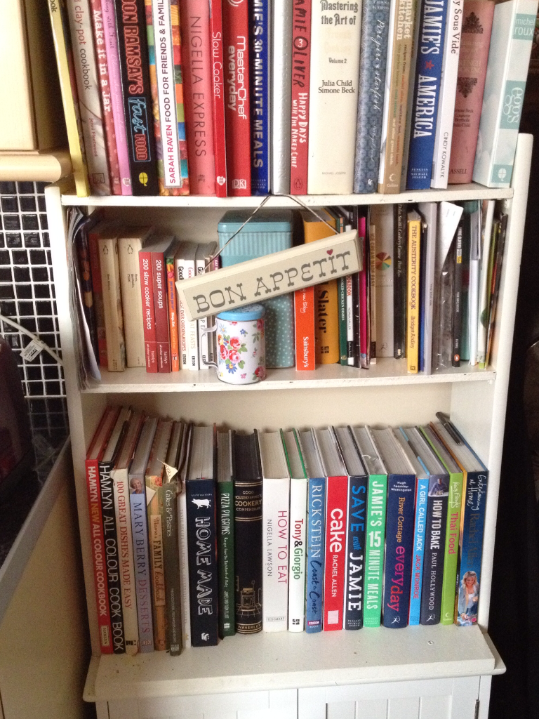 My Cookbook Shelfie