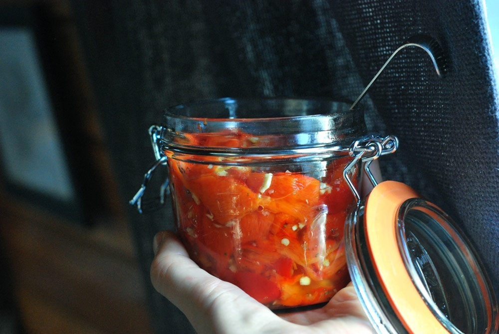 Quick Antipasti Peppers – A Guest Post From Rough Measures