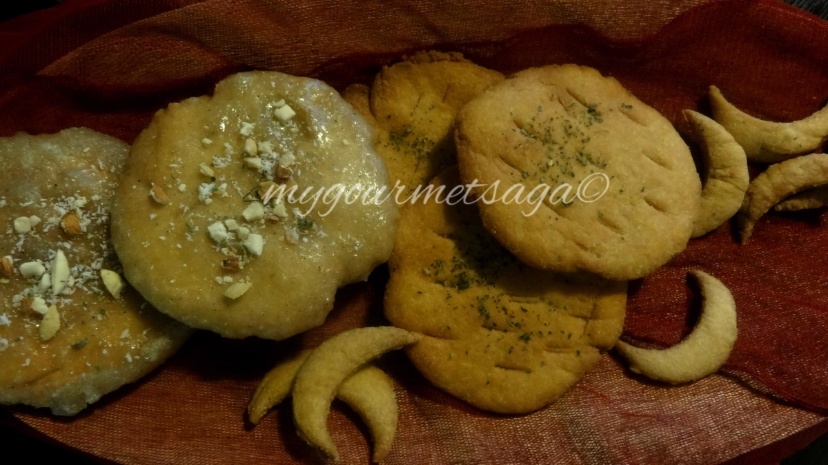 Sweet & Savory Mathri- Flaky Indian Biscuits