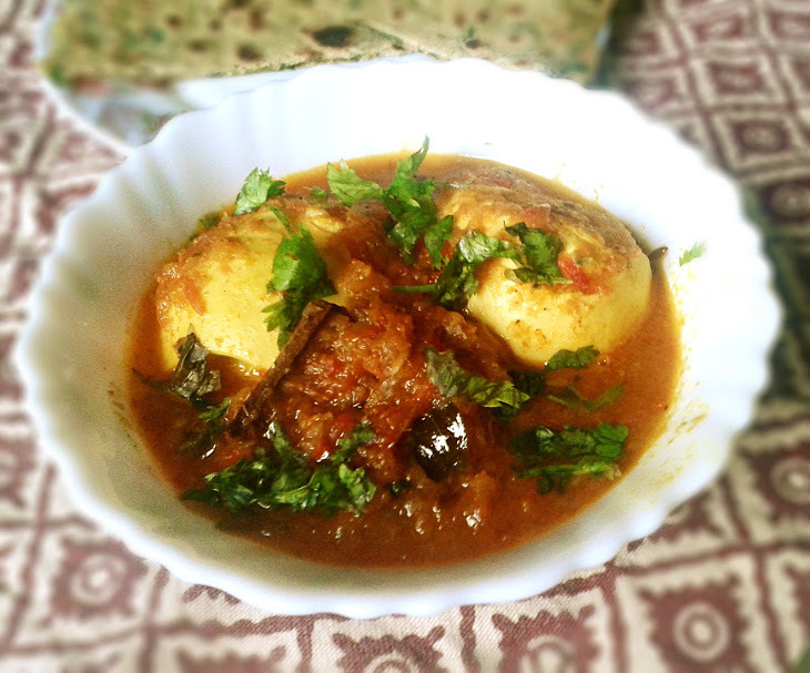Egg Masala Curry Recipe – Spicy Egg Curry (Anda Curry) Recipe