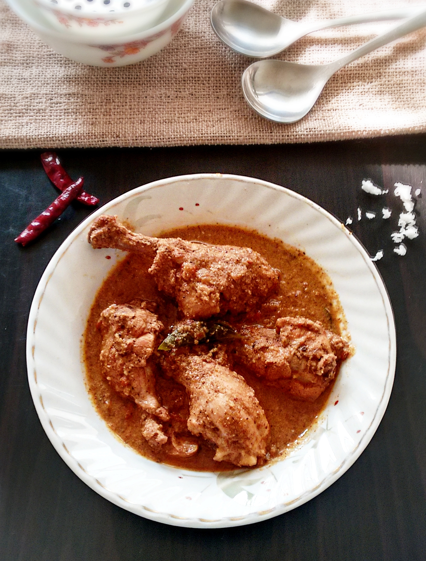 Goan coconut chicken curry recipe