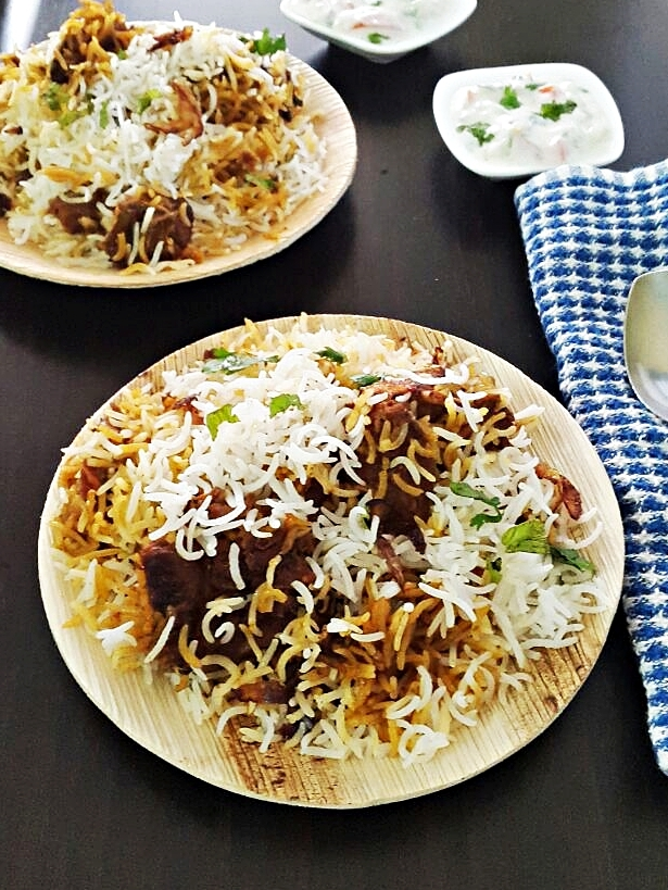 Mutton biryani recipe – Gosht biryani