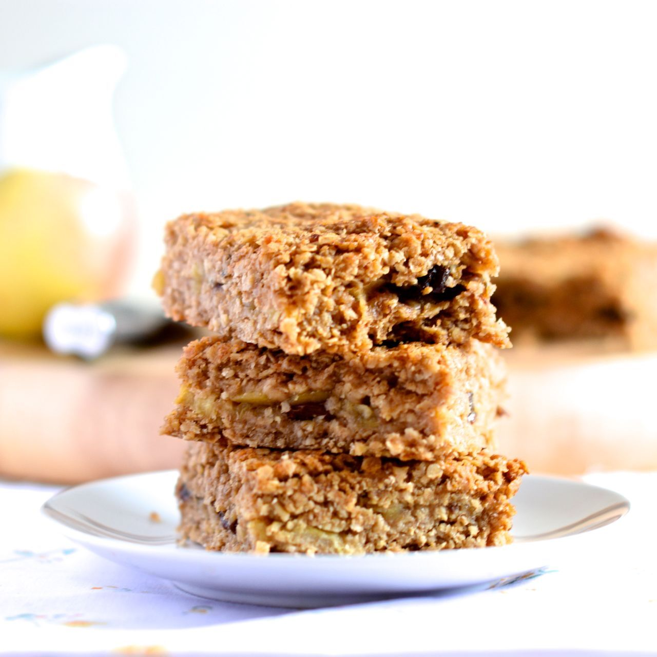 Apple Crumble Flapjacks