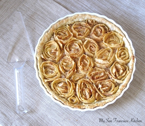 Tarte aux Pommes à la Frangipane (French Apple Tart)