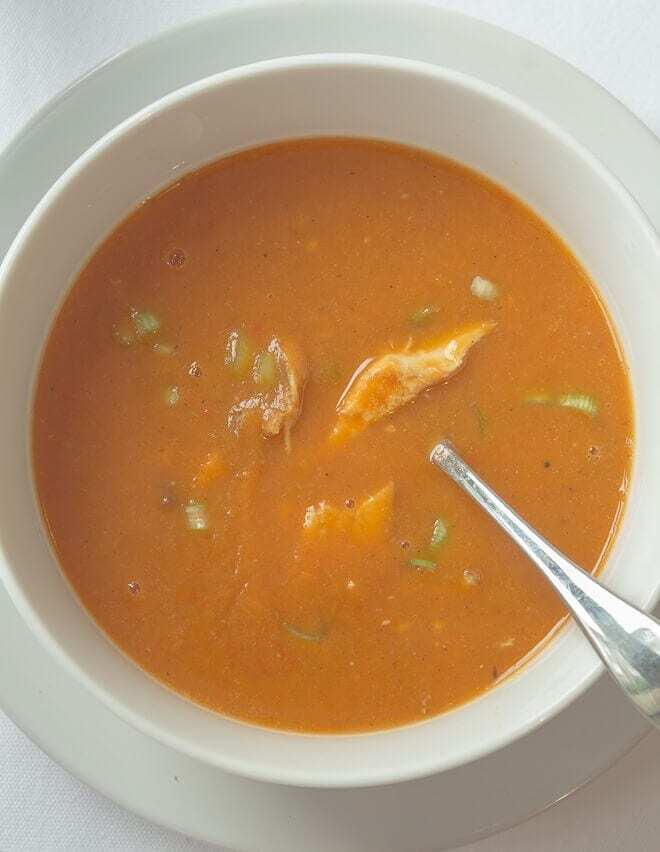 Spicy Chicken and Red Pepper Soup