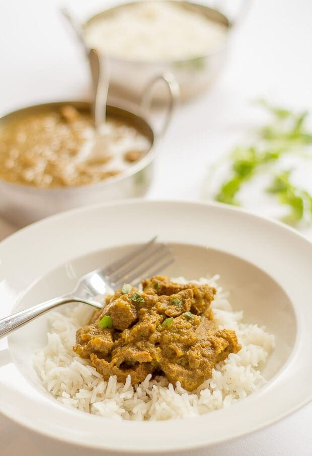 Mild Beef Curry