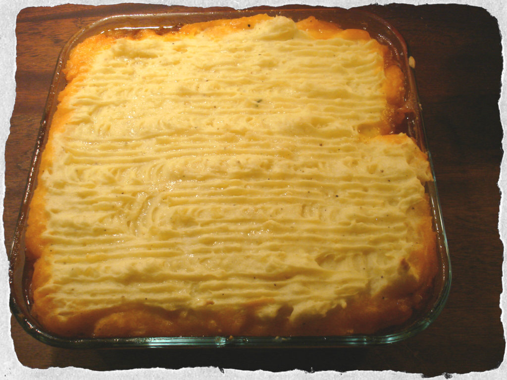 Homemade Cottage pie, a Gordon Ramsey recipe