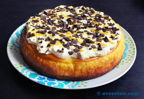 Advocaat-cheesecake