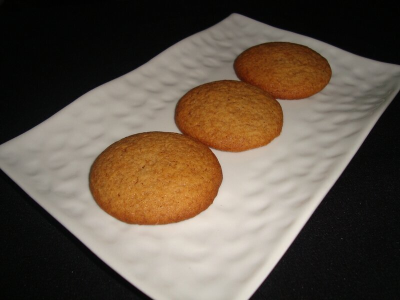 Biscuits miel/spéculoos