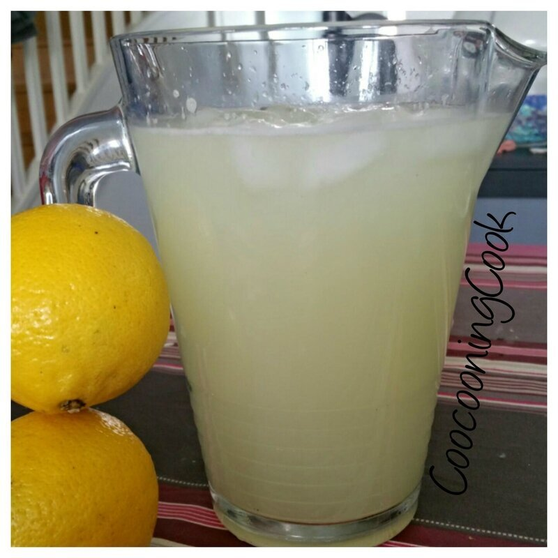 Citronnade - thermomix - (ou pas)