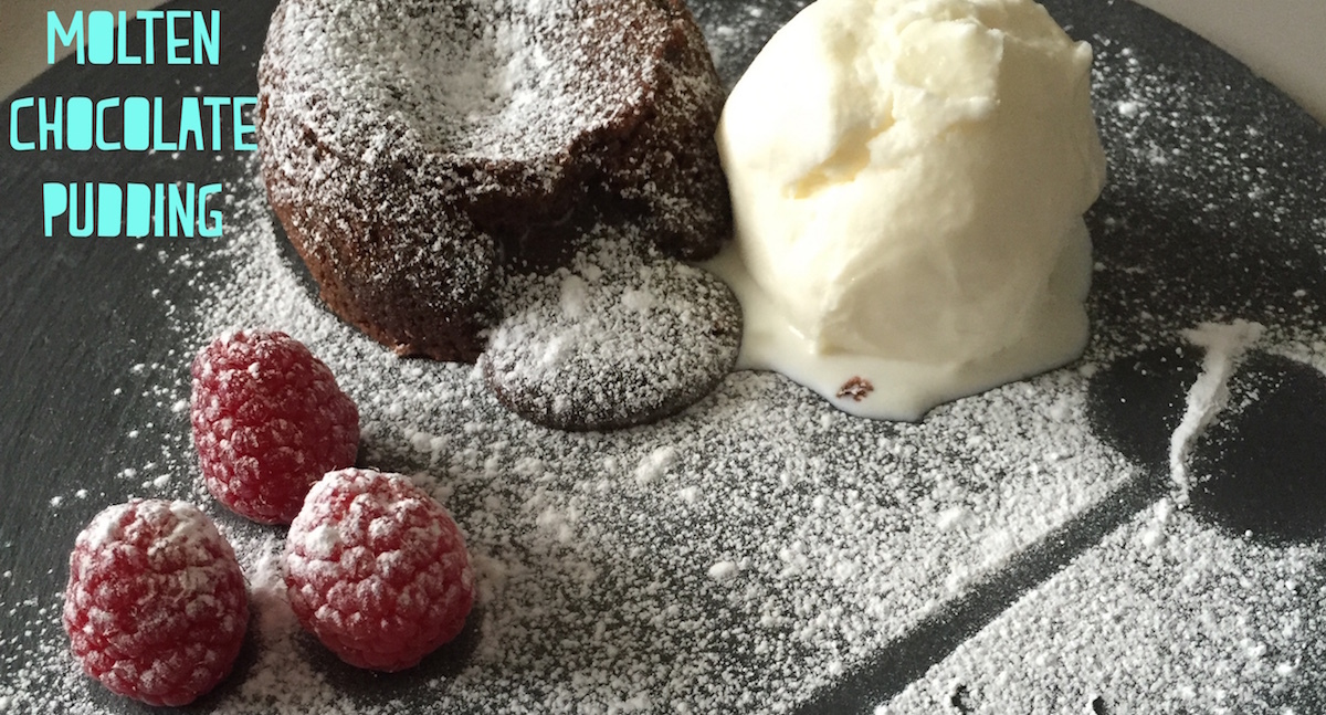 The ultimate molten chocolate pudding