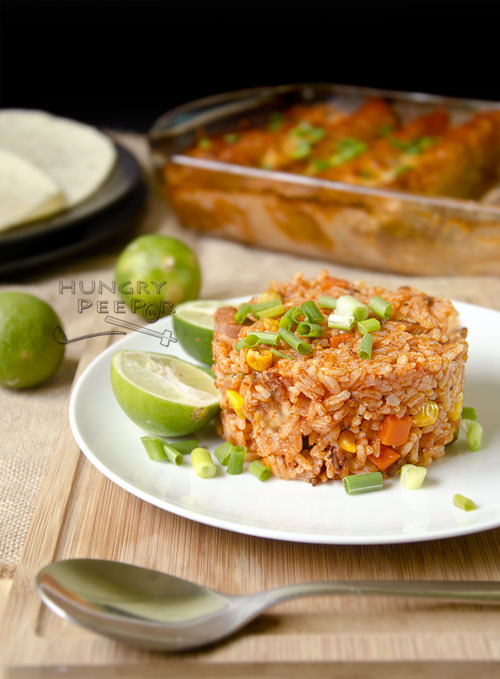 Simply Red Mexican Rice, Simply Delicious!