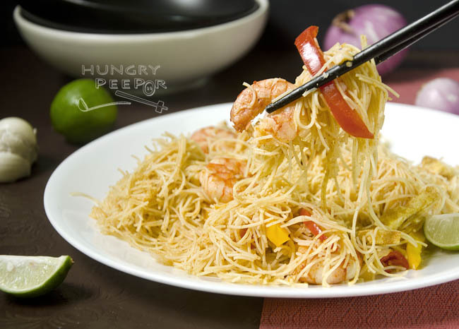The Almost Non-Existent Singapore Noodles In Singapore