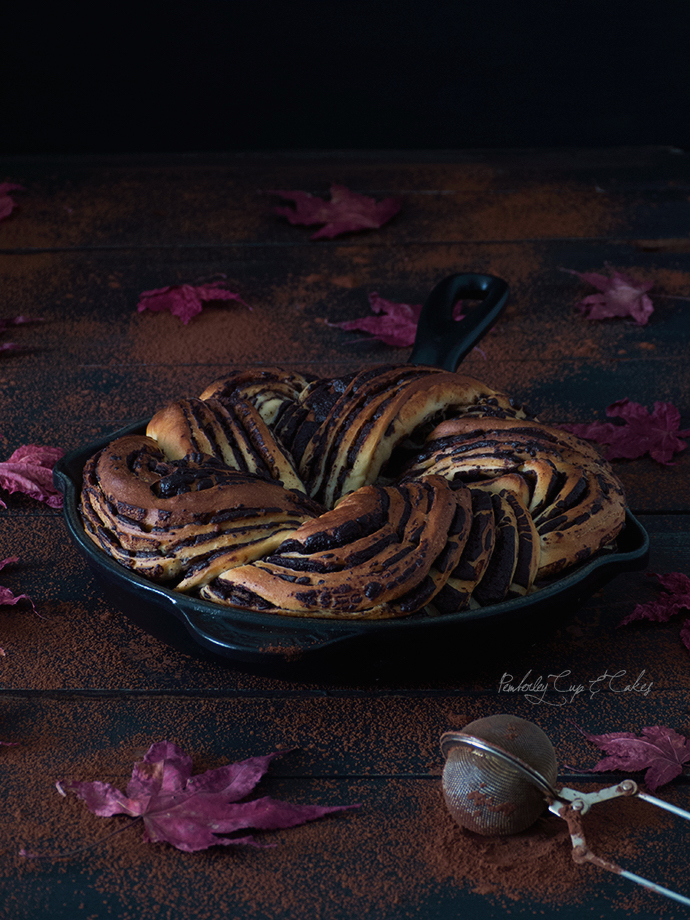 Dark Chocolate Babka {Trenza de chocolate}