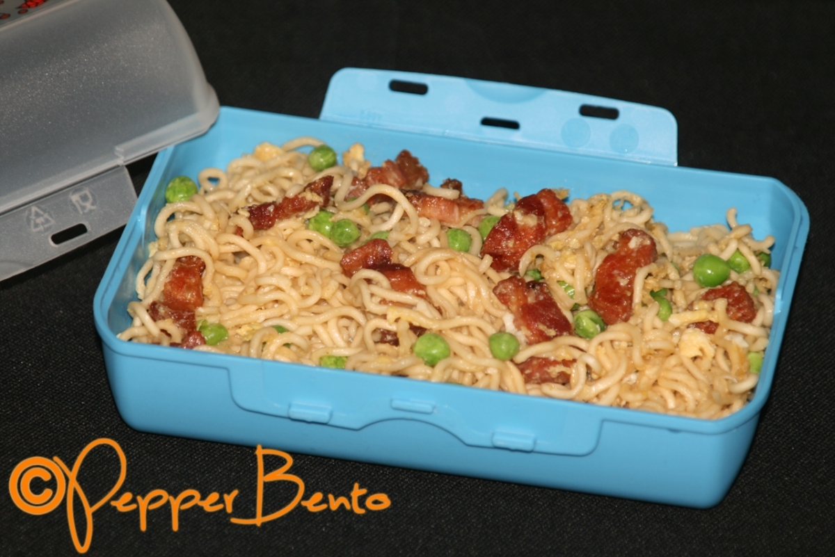 English Breakfast Noodles Bento Lunch Box!