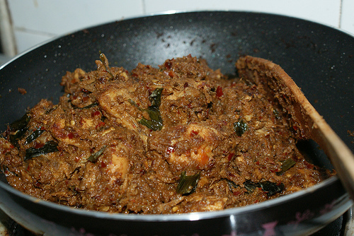 Chicken Rendang Streetfood style