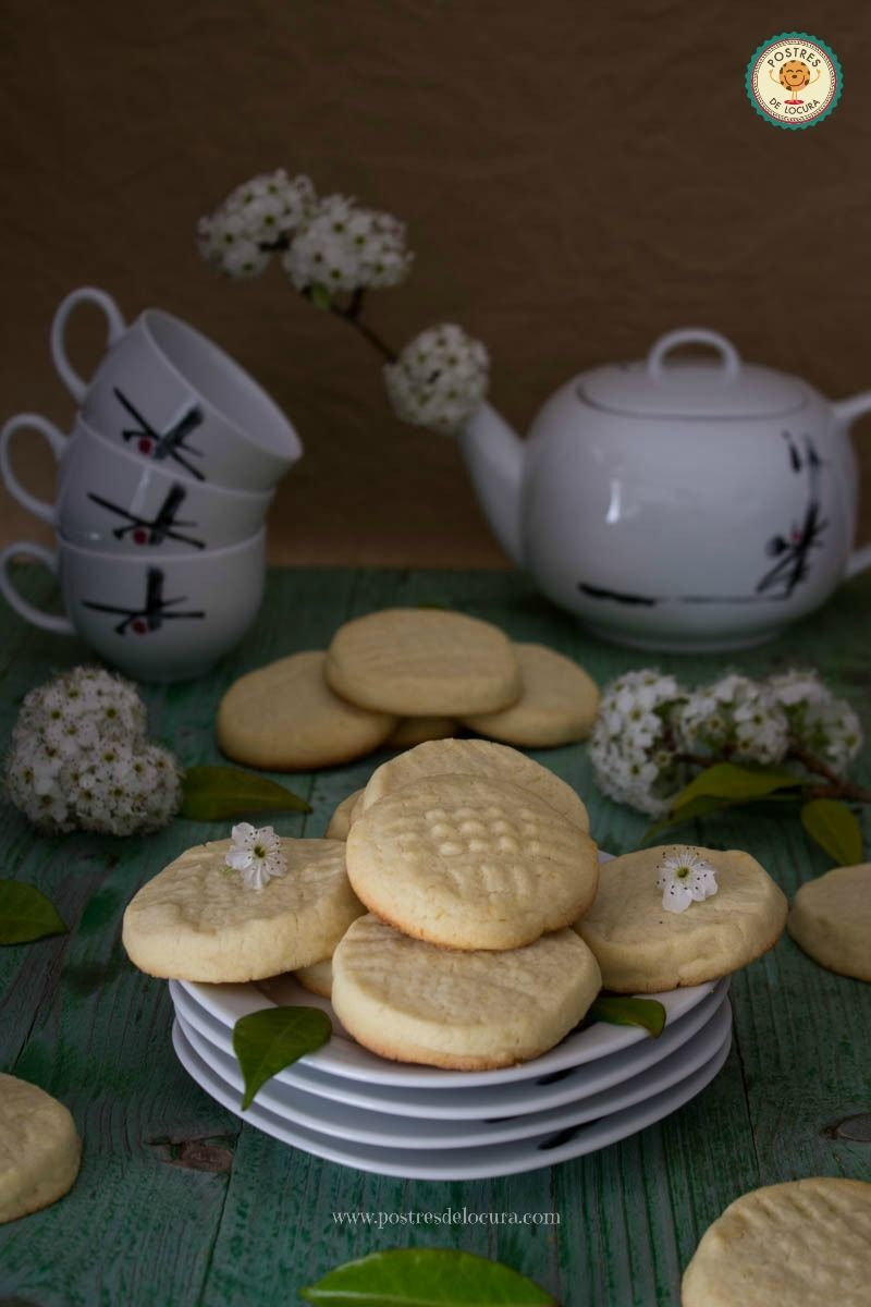 GALLETAS FACILES DE MANTEQUILLA Y LIMON
