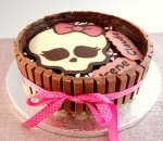 Tarta de Galletas y Chocolate Monster High (Making Off)