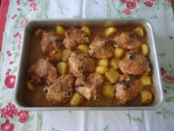 Frango Temperado com 2 Ingredientes
