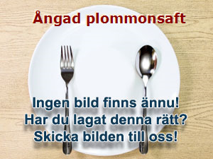 Ångad plommonsaft